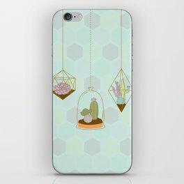 Cactus Terrarium iPhone Skin