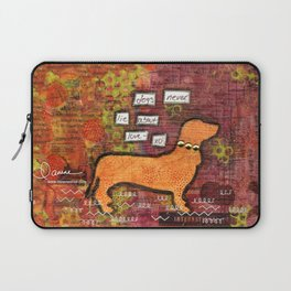 dogs never lie about love Laptop Sleeve