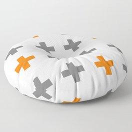 Swiss cross / plus sign Floor Pillow