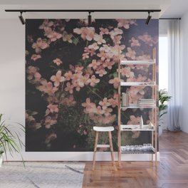She Hangs Brightly Wall Mural