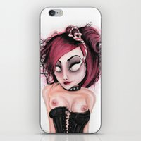rocky horror iPhone & iPod Skins featuring Untitled IV by Rouble Rust
