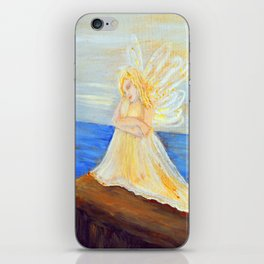 Invite your Angel   Angels are here iPhone Skin