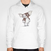 gizmo Hoodies featuring Gizmo Plushie by Ludwig Van Bacon