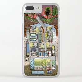My Bunker Clear iPhone Case