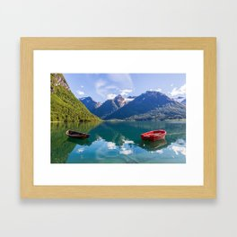 Hjella Beauty Framed Art Print