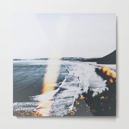 SEASCAPE BURN Metal Print