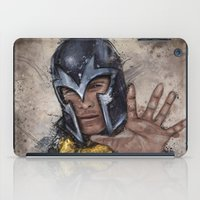 magneto iPad Cases featuring Magneto. by Emiliano Morciano (Ateyo)