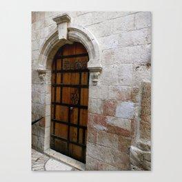 Door in Israel 2 - M Canvas Print