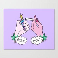 BEST BUDS Canvas Print