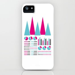 Infographic Selection iPhone Case
