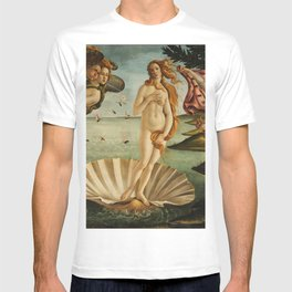 The Birth of Venus - Nascita di Venere by Sandro Botticelli T-shirt