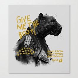 Punk Panther Canvas Print