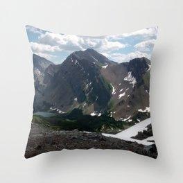 Ridge Line Throw Pillow