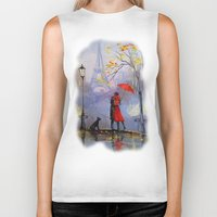 romantic Biker Tanks featuring Romantic by OLHADARCHUK