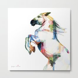 Horse (Andalusian Colorful) Metal Print