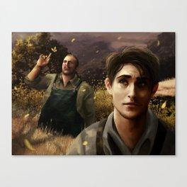 George and Lennie Canvas Print