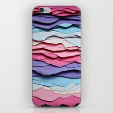 Colour waves iPhone & iPod Skin