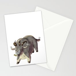 Cute Guild Wars Dolyak Stationery Cards