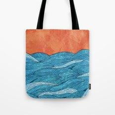 The Blue Sea Tote Bag