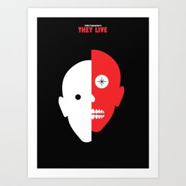 John Carpenter - They Live Art Print