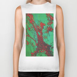 psychedelic cell pt4 Biker Tank