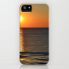 Super Sunset at the Beach iPhone Case