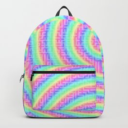The magic of the colorful maze Backpack