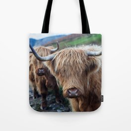On the hills Tote Bag