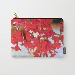 Red Kalanchoe Flowers Carry-All Pouch