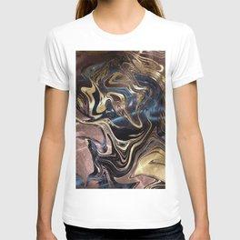Liquid Gold Marble T-shirt