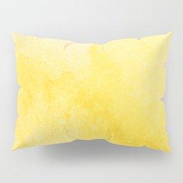 Sunshine Watercolor Pillow Sham