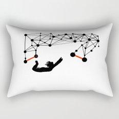 the Trapeze Rectangular Pillow