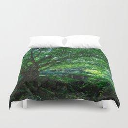 The Greenest Tree Duvet Cover