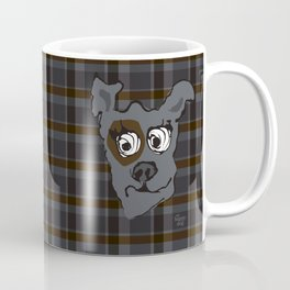 Bandit GRAY Coffee Mug