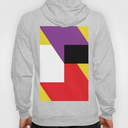 Same as before... a lot of colorful polygons, maybe a parallelepiped. Yo! Hoody