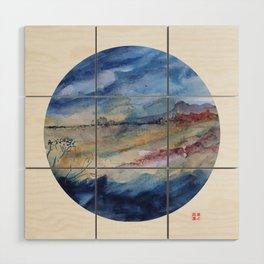 genius loci 2 Wood Wall Art
