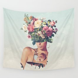 Flower-ism Wall Tapestry