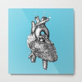 Reef heart Metal Print