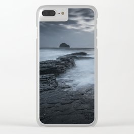 Sunset in Cornwall III Clear iPhone Case