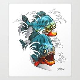 Carnivores! Art Print