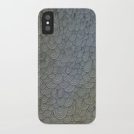 Sea of Lines iPhone Case