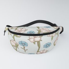 Cotton Flowers Fanny Pack