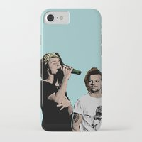 larry stylinson iPhone & iPod Cases featuring Pop Art Larry Stylinson  by JodiYoung