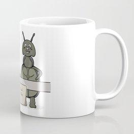 bug as a inspector of quality Coffee Mug
