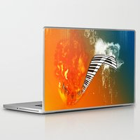 piano Laptop & iPad Skins featuring Piano by nicky2342