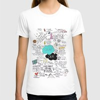 john green T-shirts featuring The Fault in Our Stars- John Green by Natasha Ramon