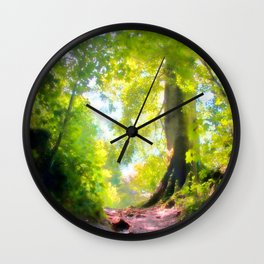 The Glade Ahead Wall Clock