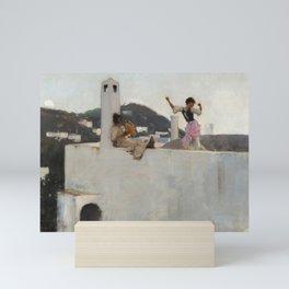 """John Singer Sargent """"Capri"""" Mini Art Print"""