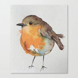 Robin Bobin Along Canvas Print