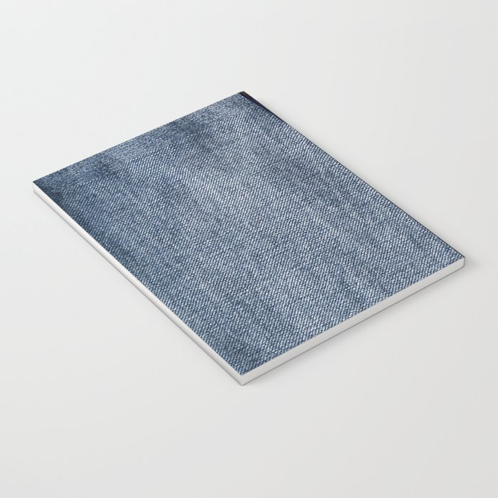 Denim Zip Notebook